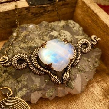 Cosmic Serpent Necklace